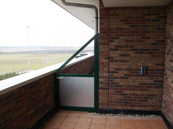 balkon deur terrasscherm